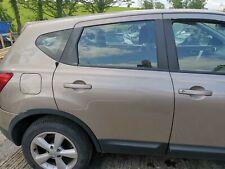 NISSAN QASHQAI DRIVER OFF SIDE REAR DOOR COMPLETE C30 2007-2013