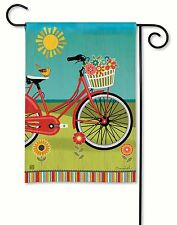Garden Decorative Flag. Summer Ride