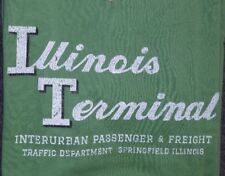 Ringaboy Mens T-Shirt Illinois Terminal Railroad. New With Tags Size XL