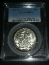 1942-S Walking Liberty Half Dollar PCGS MS 65