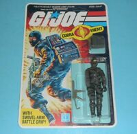 *RECARDED* 1984 GI Joe Firefly v1 Figure Complete Sealed *CUSTOM File Card Back*