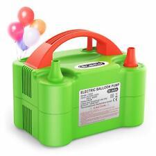 Dr.meter Pompe à Ballon Gonfleur Electrique Ballon avec Double Utilisation Po...