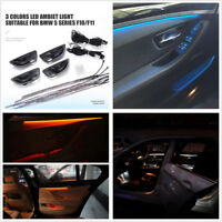 3 Color LED Adjustable Car Door Decor Lamp Interior Ambient Lamp For BMW F10/F11