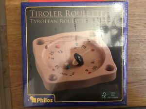 Orginal verpacktes Tiroler Roulette aus Holz von Philos 2-99 Jahre