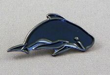 Pilot Whale Enamel & Metal Lapel / Pin Badge -24mm BRAND NEW