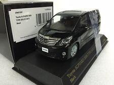 CARNEL KYOSHO 1/43 TOYOTA ALPHARD 350S TYPE GOLD II 2013 BLACK diecast model car
