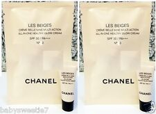 Chanel Les Beiges All In One Healthy Glow Cream SPF30 PA+++ N10 2.5ml x 2 = 5ml