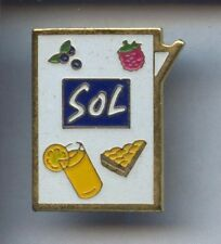 RARE PINS PIN'S .. ALIMENT FOOD SUCRE SUGAR / SOL    ¤3A