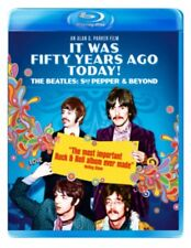 The Beatles It Was Fifty Years Ago Today Sgt Pepper & Beyond BLU-RAY