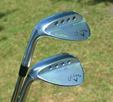 New Callaway MD3 Milled Satin Chrome 2- Wedge Set Dynamic Gold Steel 54/12 58/11