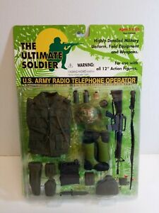 21st Century Toys Ultimate Soldier U.S. Army Radio Telephone Op 1:6 Scale Sealed