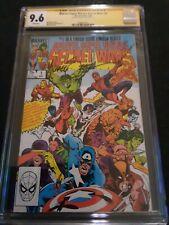 Marvel Super Heroes Secret Wars #1 CGC 9.6 SS signed by Mike Zeck 🗝💎