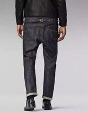 $400 G-Star Raw RE US LUMBER STRAIGHT 14oz Selvedge Denim Jeans 33x32 NWT