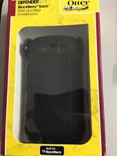 Otterbox Defender Case Cover Skin Blackberry Torch 9850, 9860 Black - Black