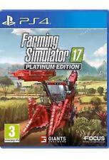 SP4F05 PS4 Farming Simulator 2017 Platinum Edition