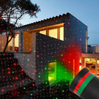 Christmas LED Lawn Stage Light Moving Star Laser Projector Outdoor Garden Lamp