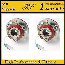 2 Front Wheel Hub Bearing Assembly For 1995-1996 Oldsmobile Ninety Eight 4WD ABS