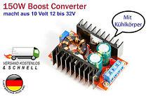 150W 10A Step-up boost Power Converter für Arduino Raspberry Pi, HIGH Power LEDs