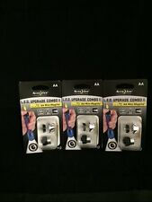 3 AA MINI MAG LITE LED UPGRADE BULB & SWITCH KITS NITE IZE 30 LUMENS MAG LIGHT