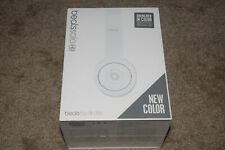Beats by Dr. Dre Solo HD Headband Headphones Drenched In Matte White Brand Newww
