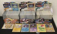 Lot 100 Carte Pokemon Française pas de double, 5 Rare / Brillante + Cadeau neuf