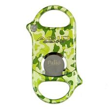 Palio Cigar Cutter - Surgical Steel - Acid Camo - New in Box