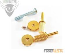 Faber 3118 Nashville Insert Bridge Studs Gold Finish