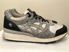 Vtg 90s Asics Gel Gray Black Running Walking Casual Sneakers Shoes TL20 Men Sz 9