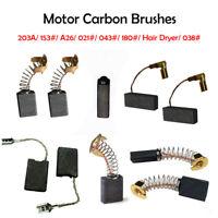 10x Balai Charbon Carbone Brosse électrique Perceuse Perforateur Moteur 7 Taille