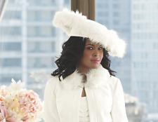 Ashro Atlantic Faux Fur Trim Hat NEW NWT One size Off-White Winter White
