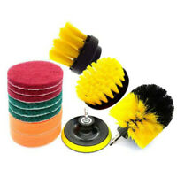 Grout Power Scrubber Cleaning Drill Brush Tub Tile Cleaner Combo Tool Kit Set