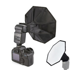 "Portable Universal 30cm/12"" Photo Studio Octagon Flash Diffuser Softbox Yongnuo"