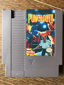 Punch-Out - Nintendo Entertainment System NES - Tested / Working