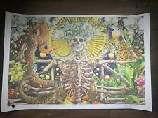 "AJ Masthay ""Adoration Of The Mother"" Art Print Poster Grateful Dead XX/300 BNG"