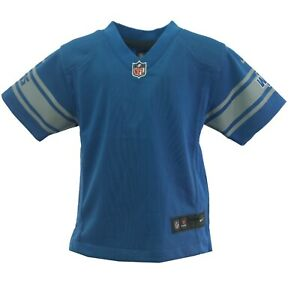 Detroit Lions NFL Official Nike Baby Infant Toddler Size Blank Jersey New Tag