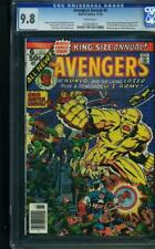 Avengers Annual #6 CGC 9.8 1976 Nuklo & Living Laser! White Pages! G11 214 cm