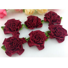 10-120pcs 30 mm DIY ribbon Carnation Flower Appliques/craft/Wedding decoration