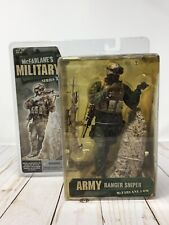 McFarlane's Military Series 3 Army Ranger Sniper Statue Diorama Figure SEALED T2