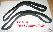 heng long Tank Track for Abrams T90  Leopard A5  on 1/24 scale UK