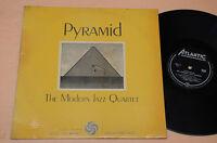 MODERN JAZZ QUARTET LP PYRAMID 1°ST ORIG ITALY ATANTIC BLACK LABEL ANNI '60