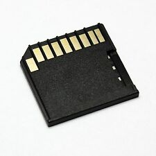 For MID MacBook Pro/Air MicroSD Card Adapter, TF to Short SD Adapter,Black