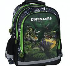 Dinosaurier Dino T-Rex SCHULRUCKSACK RUCKSACK TASCHE SCHULRANZEN