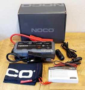 Noco Boost HD GB70 UltraSafe Portable Lithium Jump Starter 2000 Amp 12-V