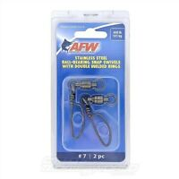 AFW Ball Bearing Snap Swivels NEW @ Otto's Tackle World