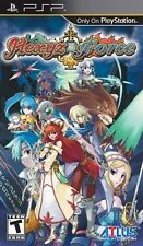 Hexyz Force [Sony PlayStation Portable PSP, ATLUS JRPG Adventure] NEW