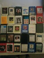 8 track tapes  lot 30