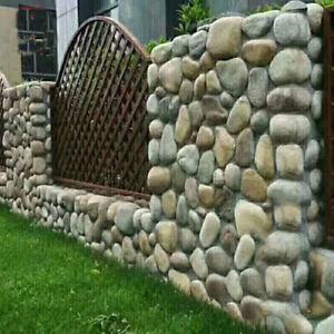 Decorative Step Stones Mold Concrete Mould Garden Pathway Decor DIY Toy