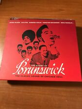 The Story of Brunswick Classic Sound of Chicago Soul 2 CD V.A.Jackie Wilson VG+