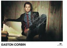 Easton Corbin Signed Autographed 8 1/2 x 11 Photo Country Music Singer