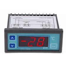 220V LED Digital Temperatur Regler Thermostat Regler Sensor -40~99°C Neu